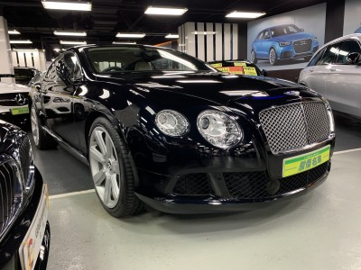 *BENTLEY CONTINENTAL GT W12 COUPE FACELIFE 版